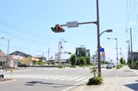 元吉田北の交差点を右折します。